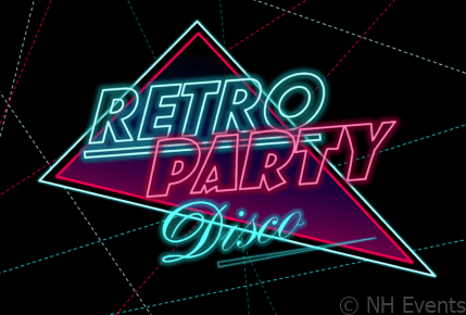 NH Events Retro Party Disco 80s Nights