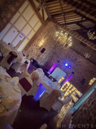 Wedding at Knights Hill Hotel, Kings Lynn, August 2021 - NH Events