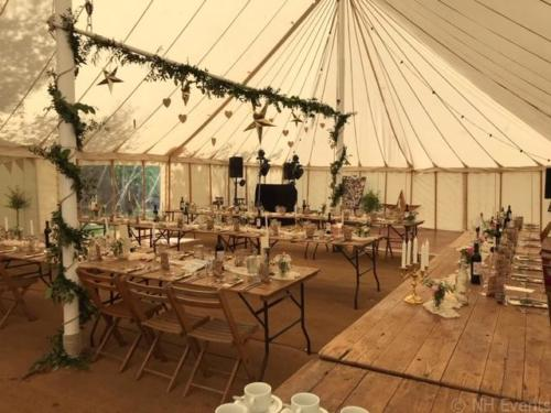 Bradenham Marquee Wedding 2019 - NH Events