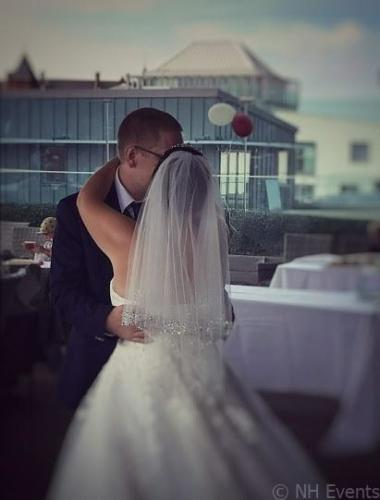 Wedding at Rooftop Gardens, Norwich 4.8.2018 - NH Events