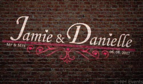 Jamie and Danielle's Wedding 6.8.17 at Hunters Hall, Norfolk - NH Events